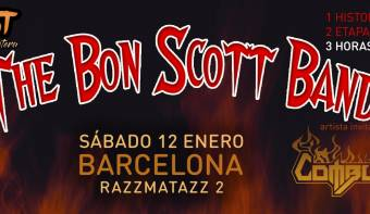 THE BON SCOTT BAND + COMBUSTIÓN