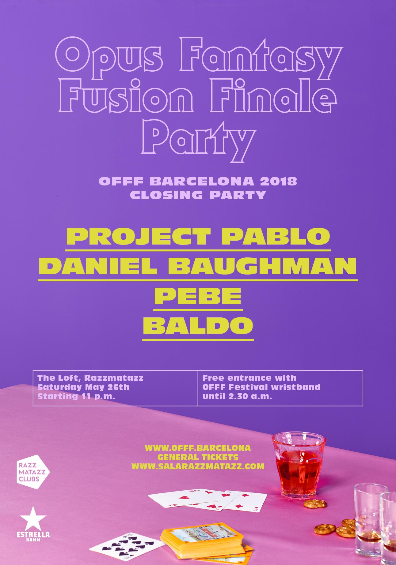 Opus Fantasy Fusion Finale Party: Project Pablo + Daniel
