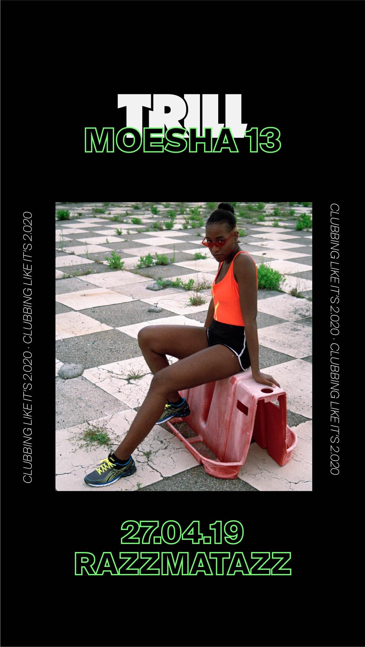 MusicMap showcase: Moesha 13 + MBODJ + MusicMap djs in Trill